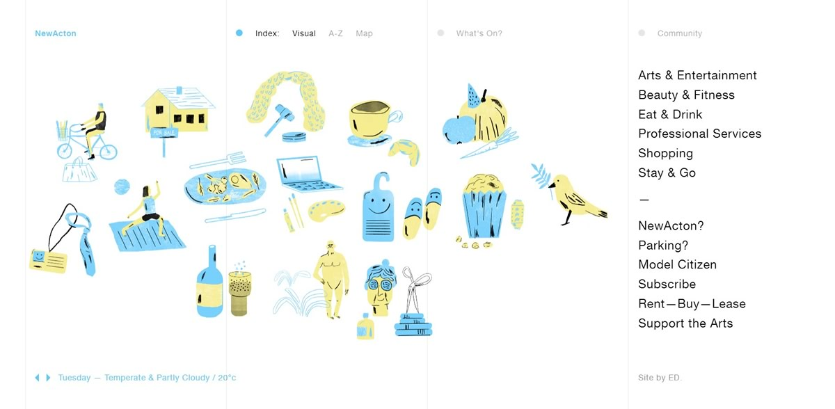Web Design Trends - Illustration