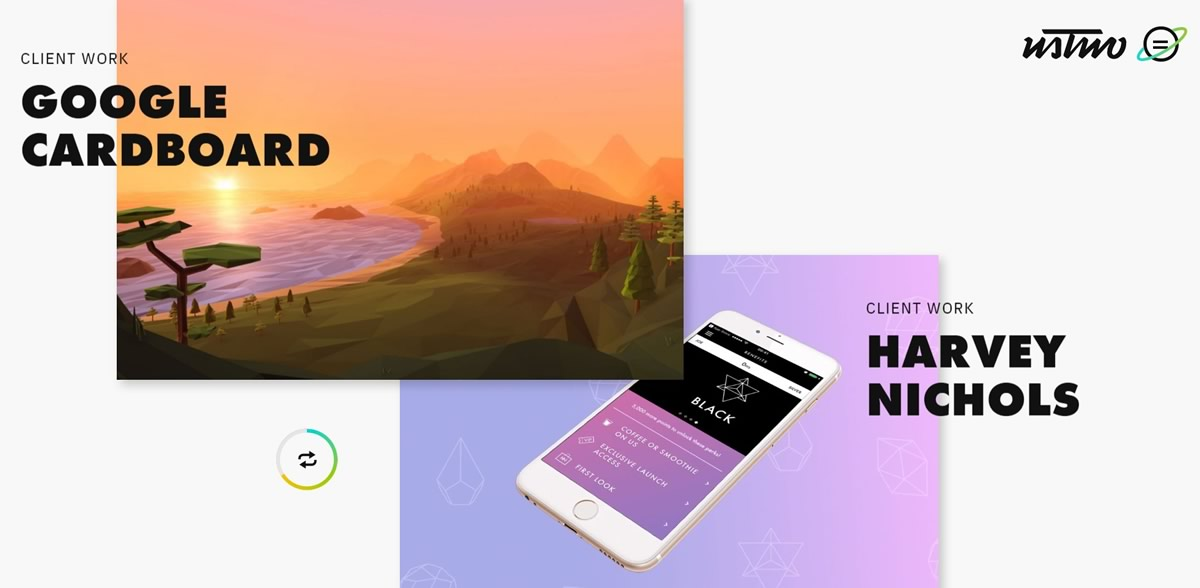 Web Design Trends - Shadows & Gradients