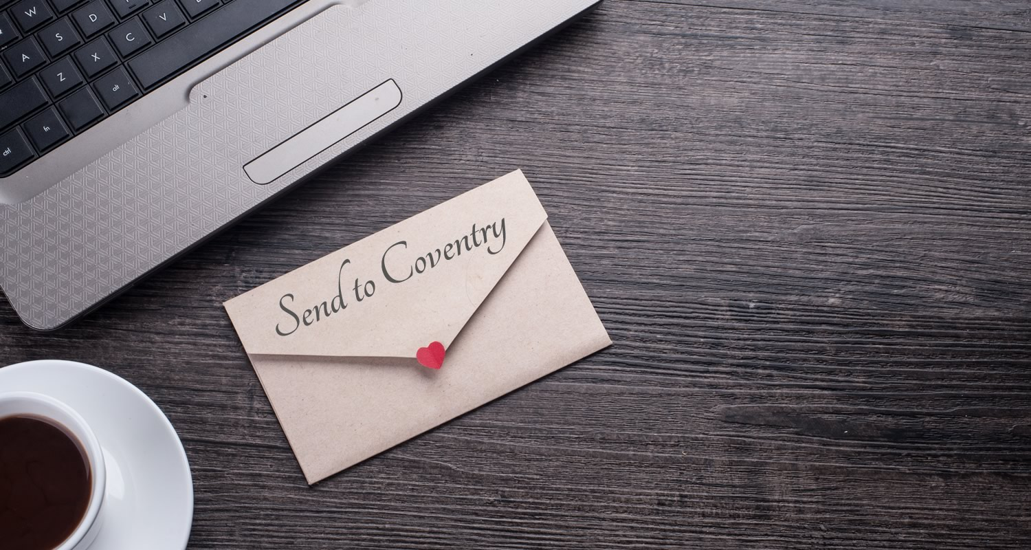Has your website been sent to Coventry?