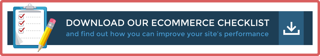 Download our eCommerce Checklist